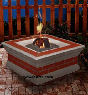 Village Square gas fire pits, enjoy a gas fire pit today, with gas fire pits you get the fire without the smoke, a gas fire pit brings warmth and ambiance to any backyard event